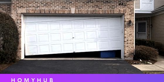 ¿No puedes abrir la puerta del garaje?