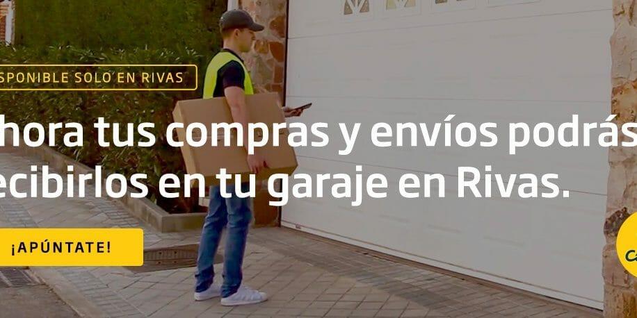 Correos y HomyHub llevan el servicio Entrega Segura a Rivas