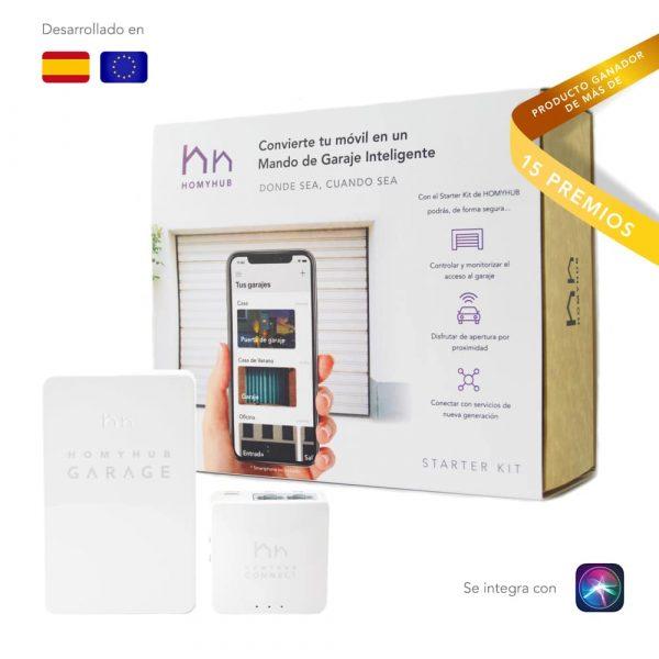Dispositivo para abrir el garaje con el móvil con nuestra app para IOS y Android.
