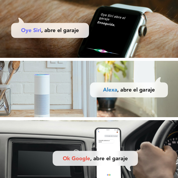 HOMYHUB Siri Alexa Google