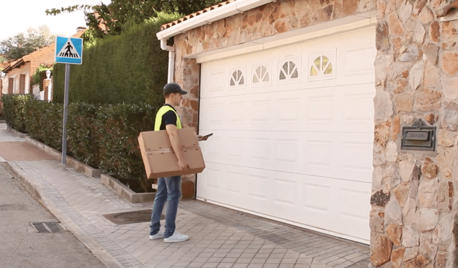 Recibir Paquetes Garaje