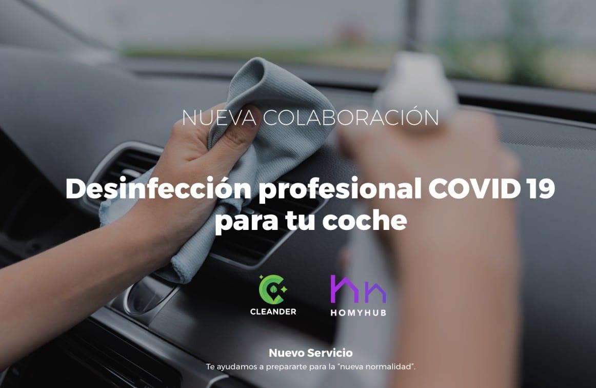 Desinfección profesional COVID-19 para tu coche