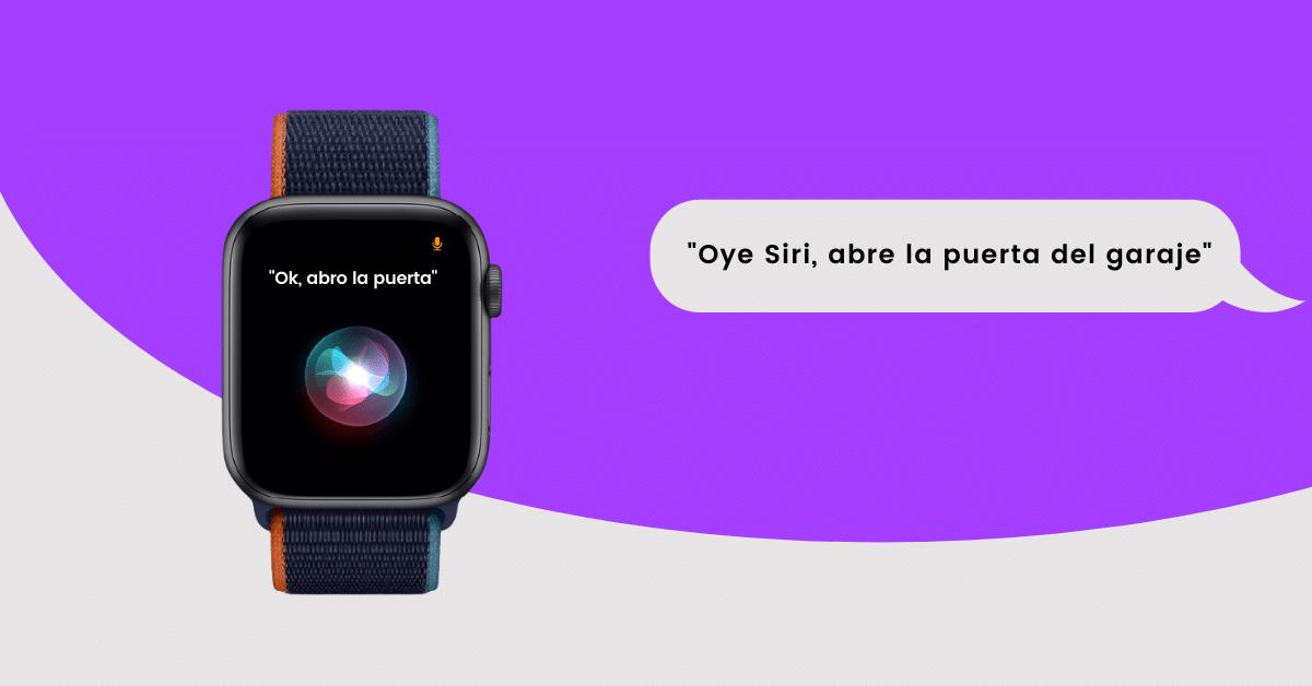 Siri Abrir Puerta Garaje - HOMYHUB