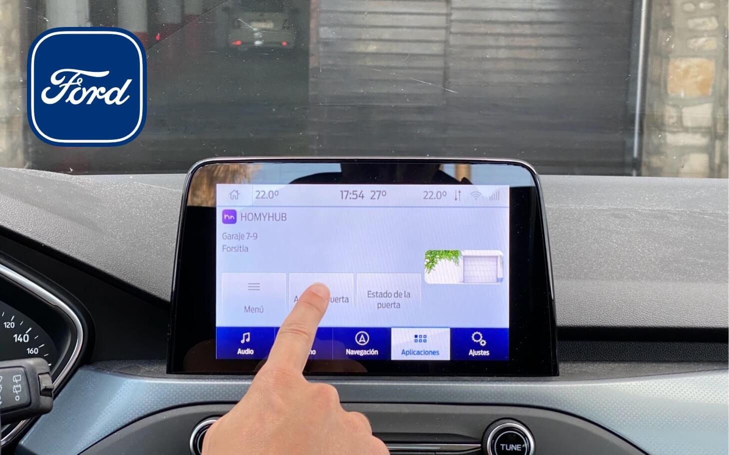 HOMYHUB App Garaje Ford AppLink SYNC coche